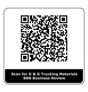 bbb scan code for dg